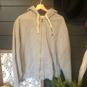 Polo Ralph Lauren Zip Up Sweatshirt